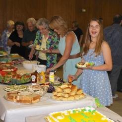 120th anniv food